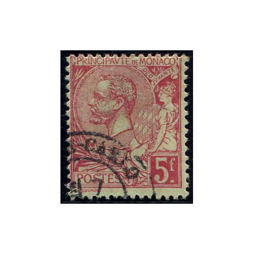 Lot 5018 - Monaco - N°21 - Oblitéré Qualité TB