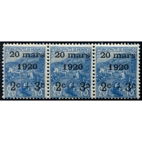 Lot 5036 - Monaco - N°35b - Neuf ** Luxe