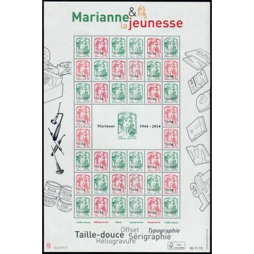 Lot 3285 - F4774B - Marianne & La Jeunesse