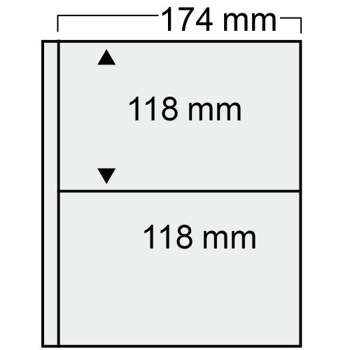 """Feuilles """"Compact"""" - 2 Blocs - Paquet de 10"""