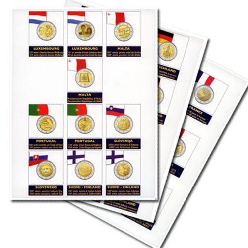 Recharges 2 EUROS commémoratifs - MARINI®