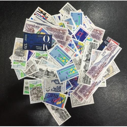 Lot de faciale 100 timbres de 3,70 Francs