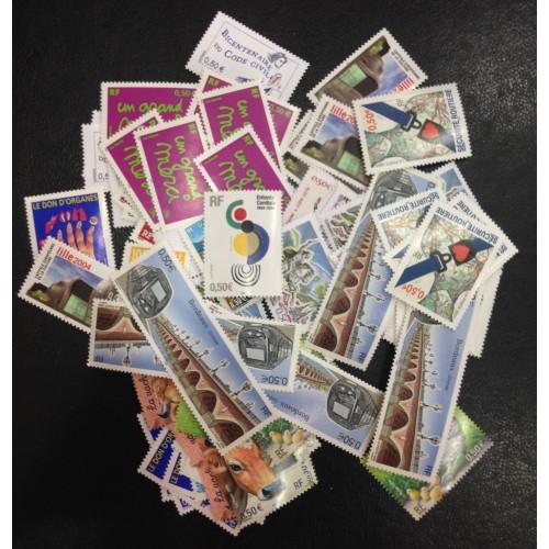 Lot de faciale 100 timbres à 0,50€ (50€)