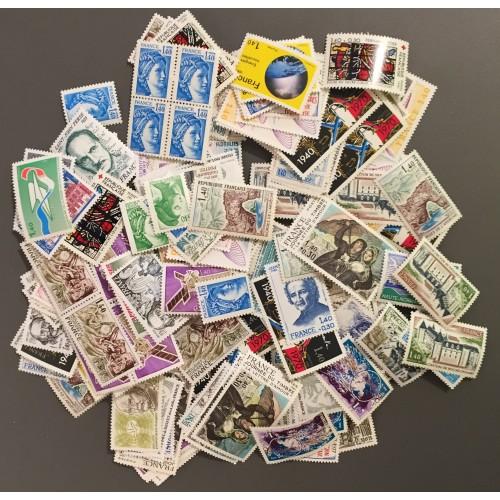 Lot de faciale 467 timbres à 1,40 Francs