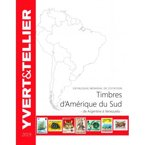 Timbres d'Amérique du Sud - 2019