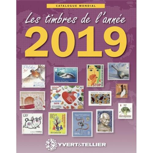 Catalogue Mondial des Timbres de l'Année 2018