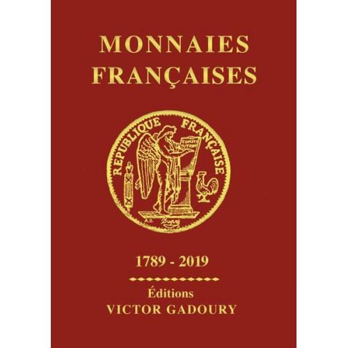 GADOURY Monnaies Françaises 2019