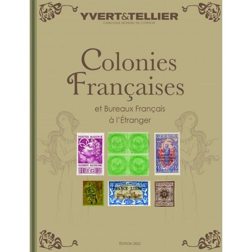 Catalogues des timbres de Colonies Françaises - 2022