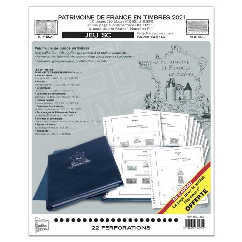 Jeux SC Patrimoine de France - Yvert et Tellier