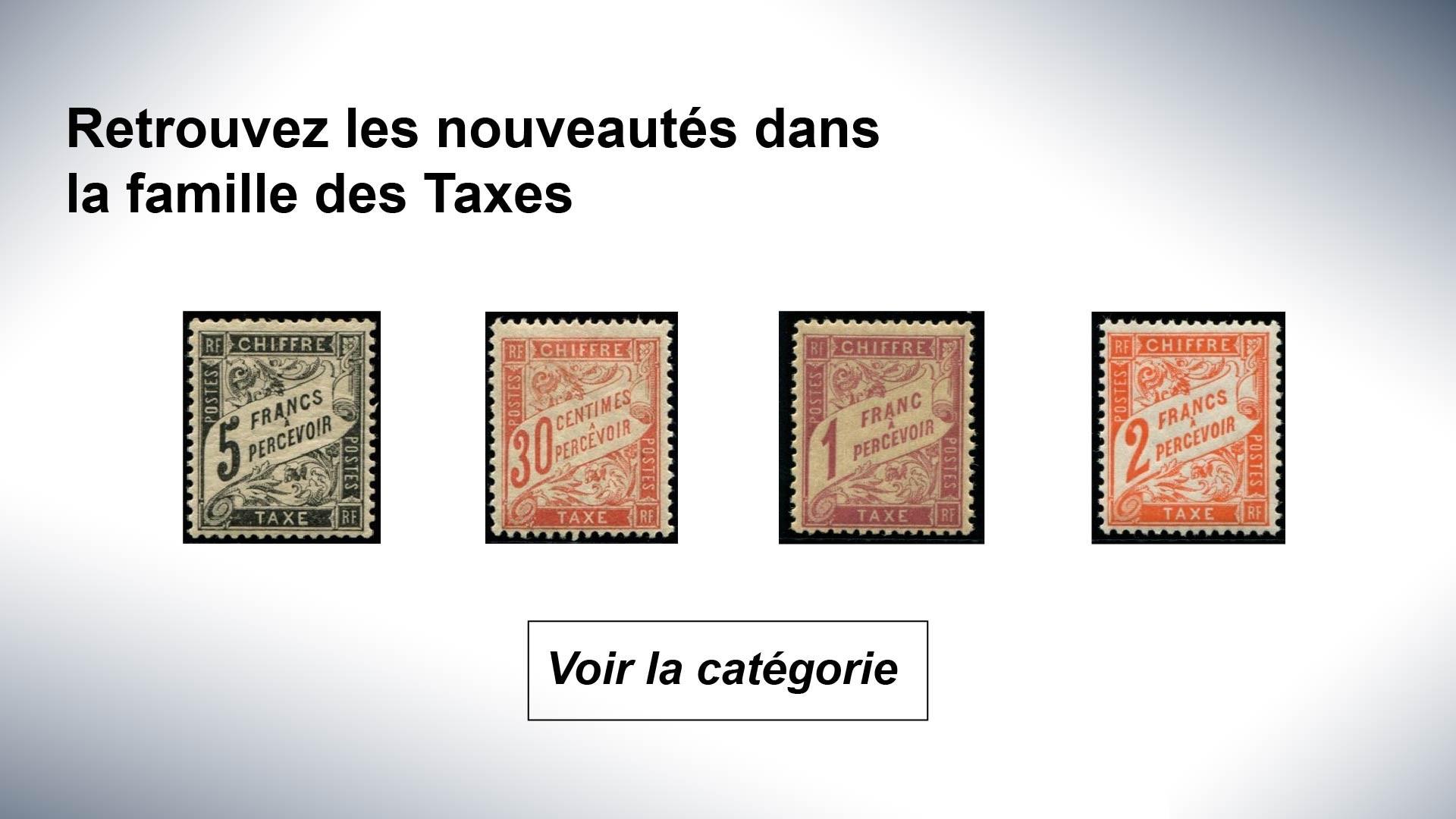 Nouveauté Taxe